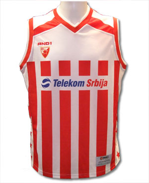 ed7f2ce21 Red star basketball jersey 0708   Delije Shop