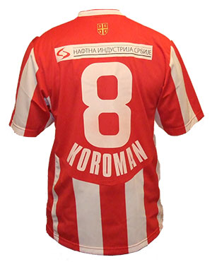 ce335c98d Nike Red Star jersey with your name and number   Delije Shop