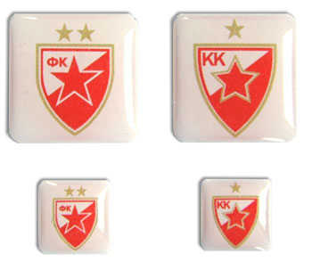 Red Star Stickers