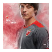 Puma grey FC Red Star jersey 2014/15