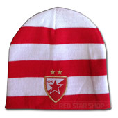 Red and white winter cap FCRS
