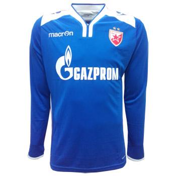 Macron FC Red Star goalie jersey 2017 18 - blue   Delije Shop 4efb56ede