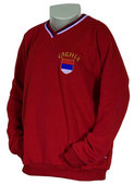 Knitted sweat shirt Serbia - red